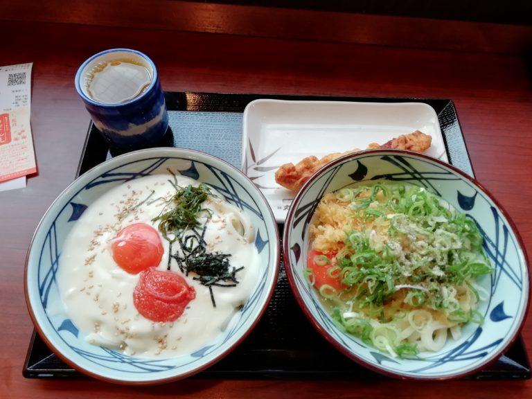 丸亀製麺 明太クリーム釜玉