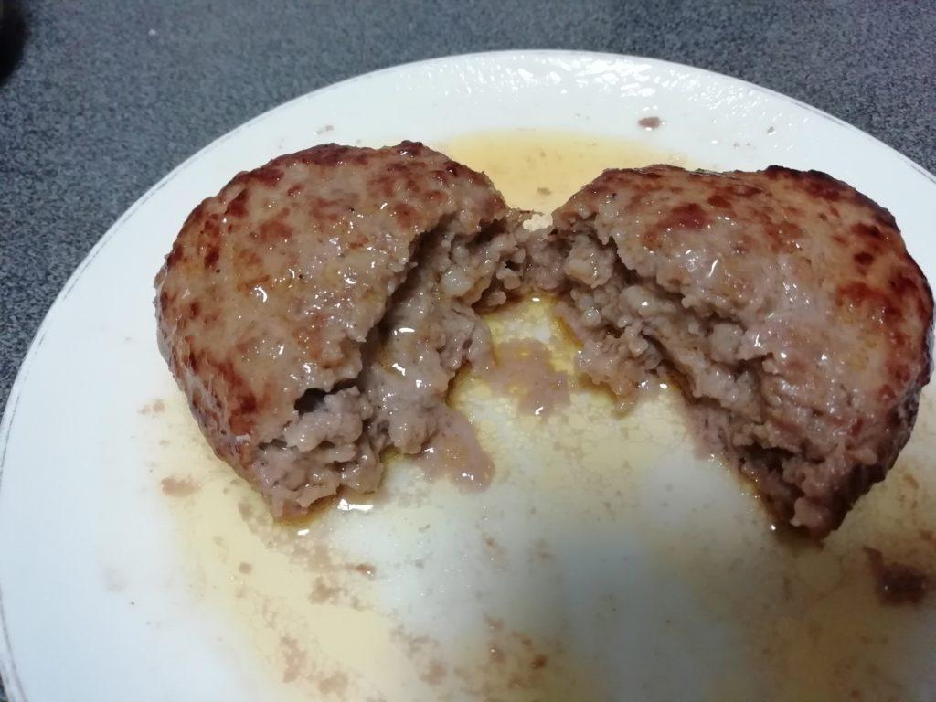 肉のカワグチ 黄金比率ハンバーグ