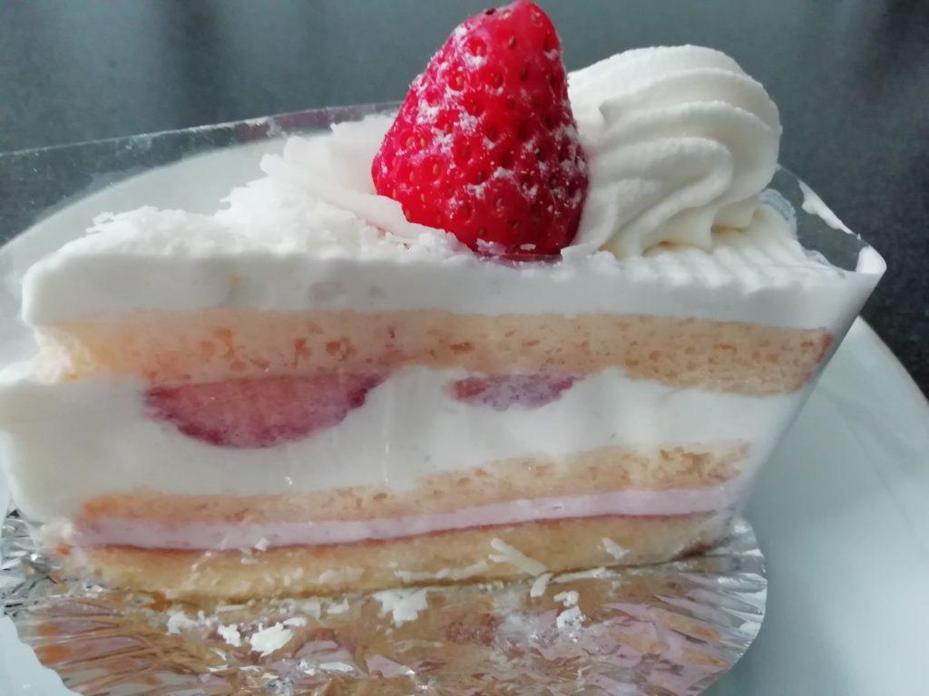 菊家 いちごまつり 苺のショートケーキ