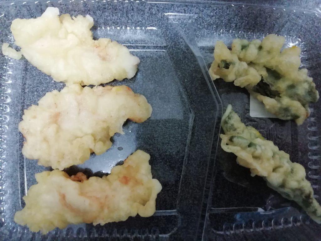 ほっともっと たかな弁当 天ぷら