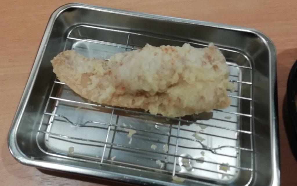 まる喜 豚の天ぷら