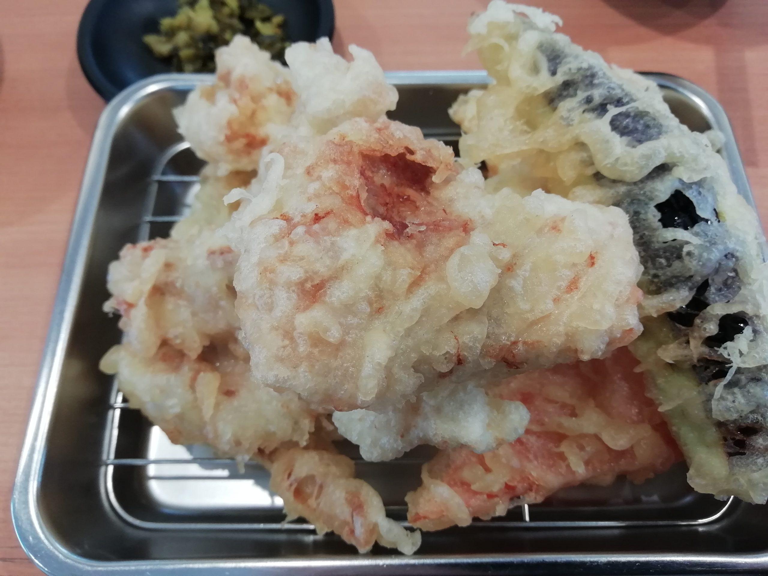 天ぷら まる喜 とり天定食