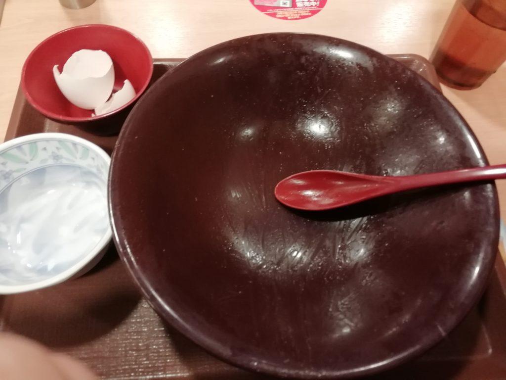 すき家 キング牛丼 完食