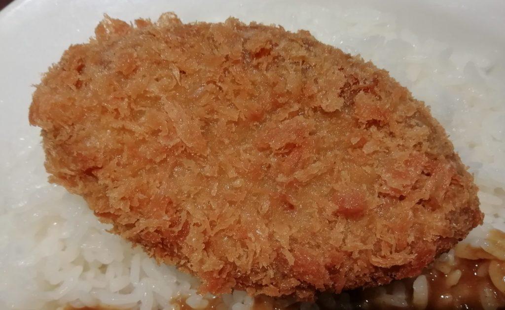 ココイチベジカレー 大豆ミートのメンチカツ