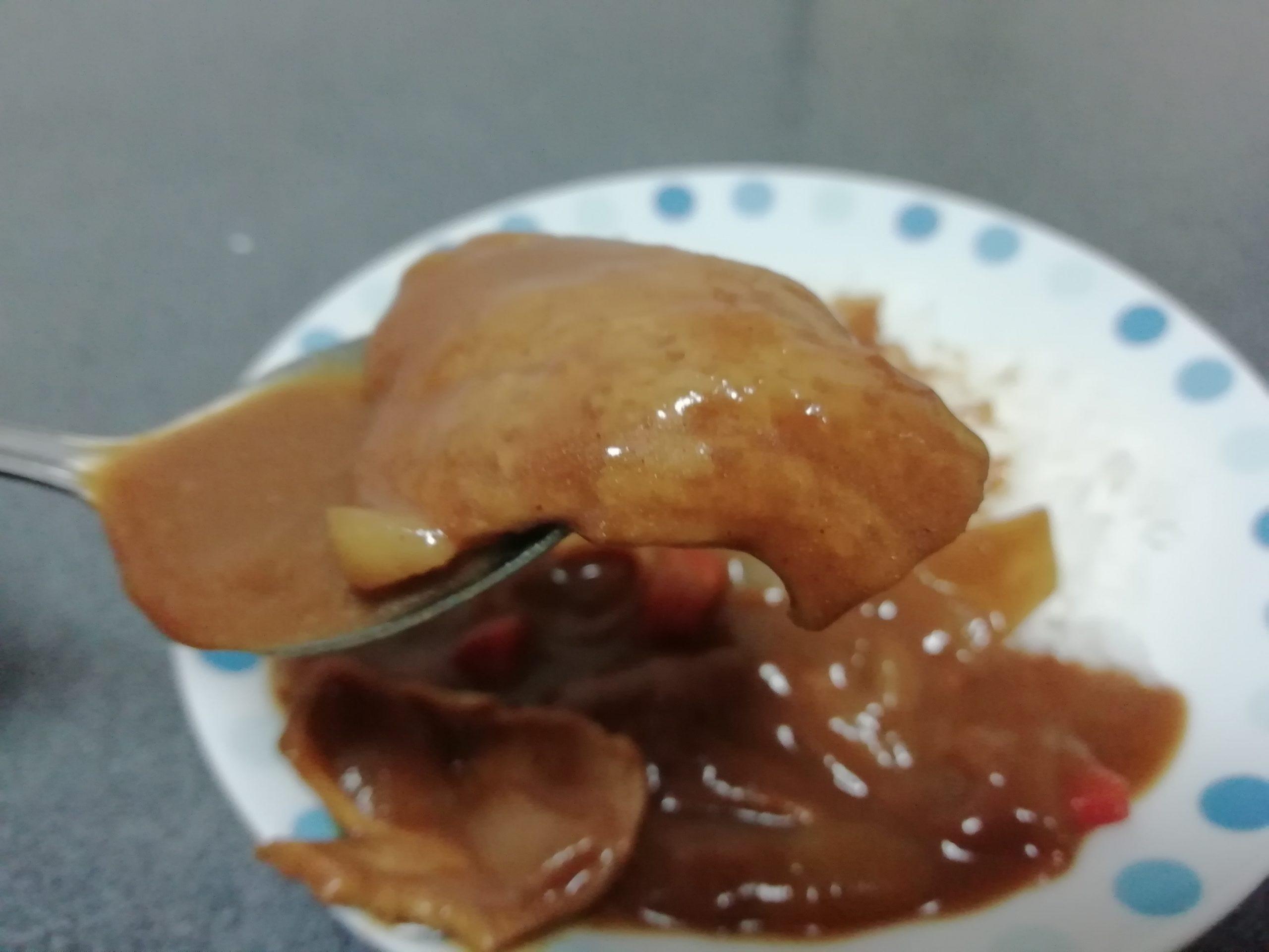 大豆ミート カレー
