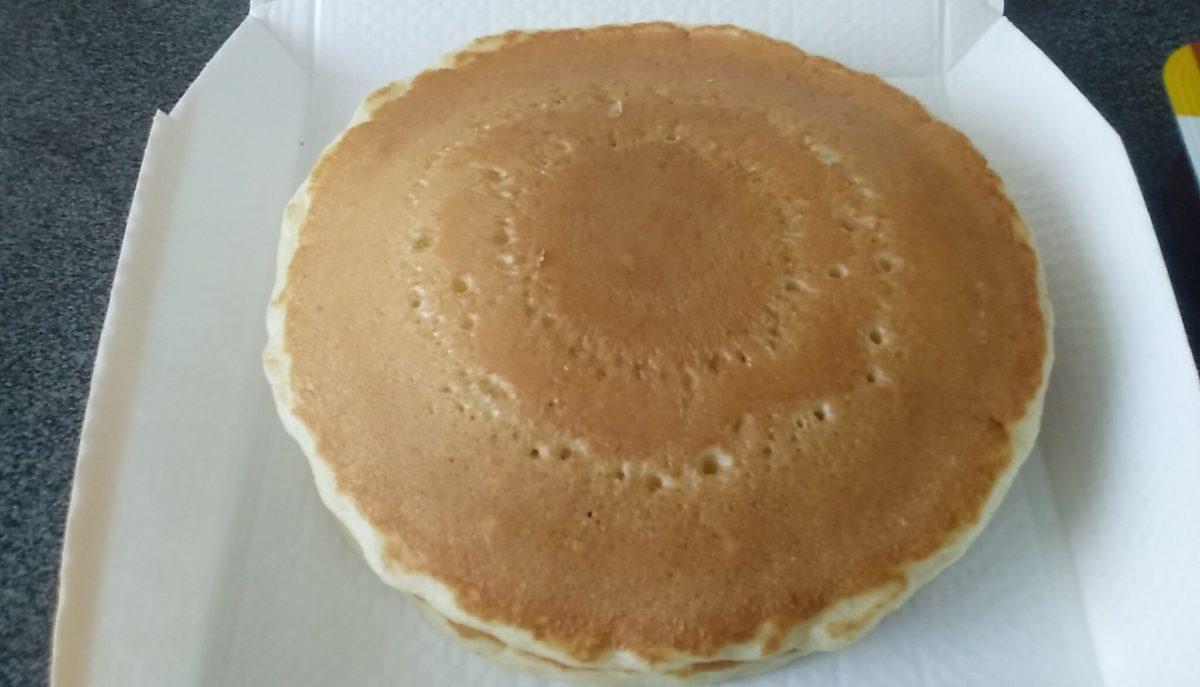 朝マック ホットケーキ