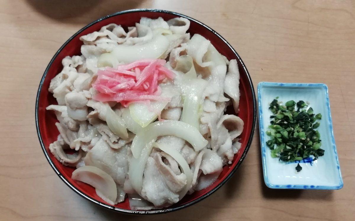 味の柳原 もち豚丼