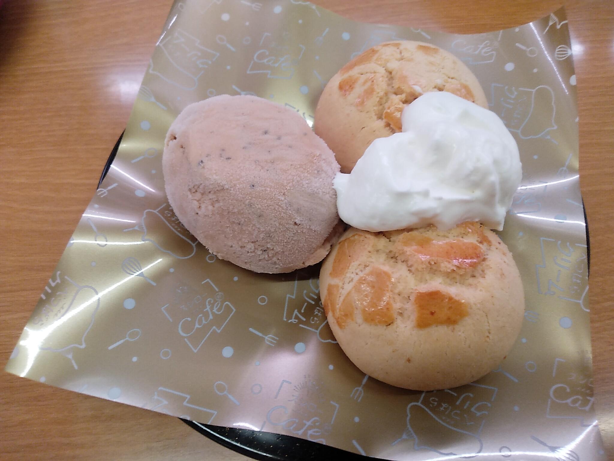 スシロー スコーン&紅茶アイス