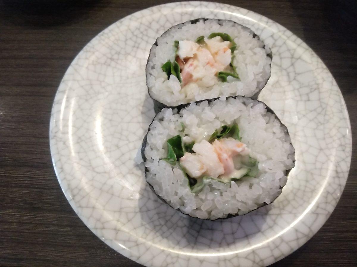 亀正くるくる寿司 レタス巻き