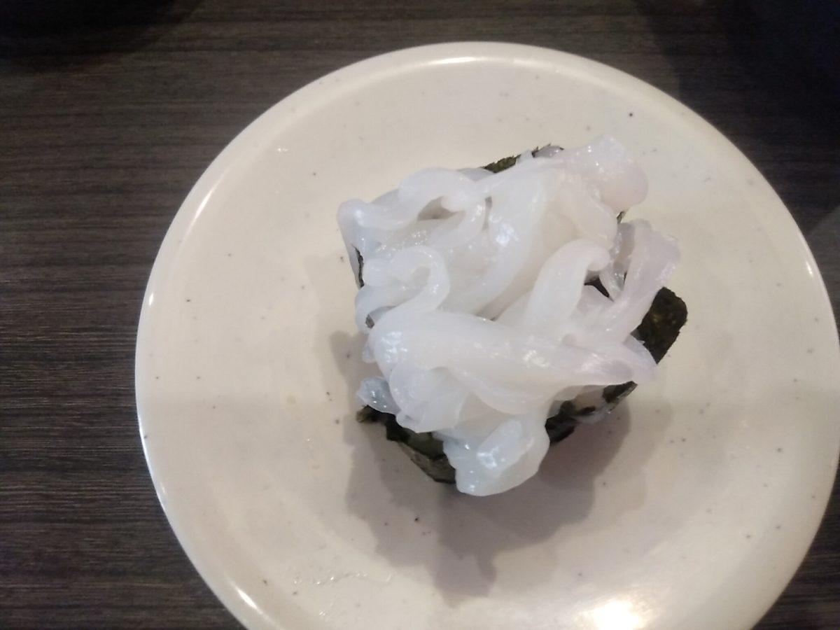 亀正くるくる寿司 イカソーメン