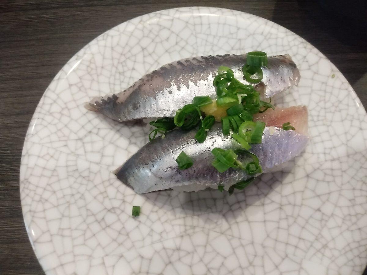 亀正くるくる寿司 いわし