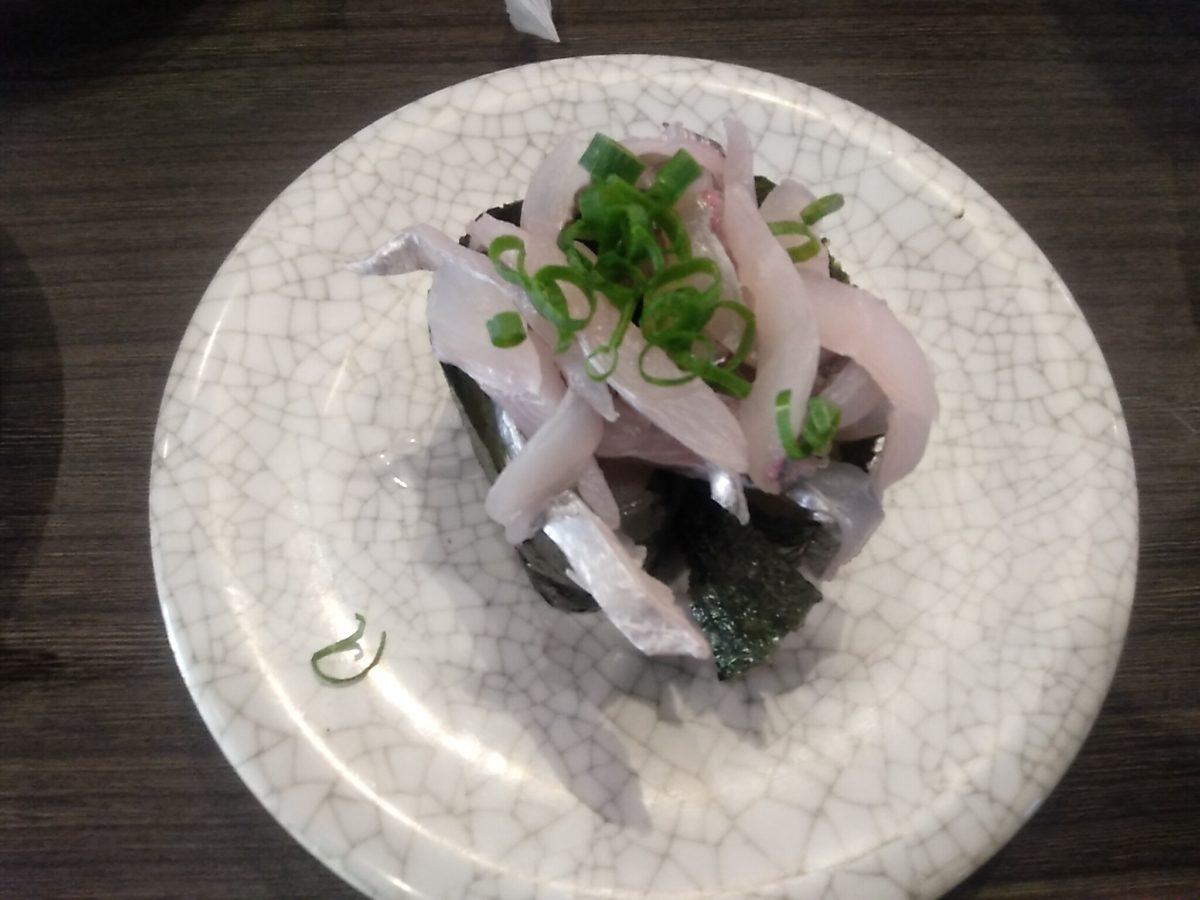 亀正くるくる寿司 太刀魚