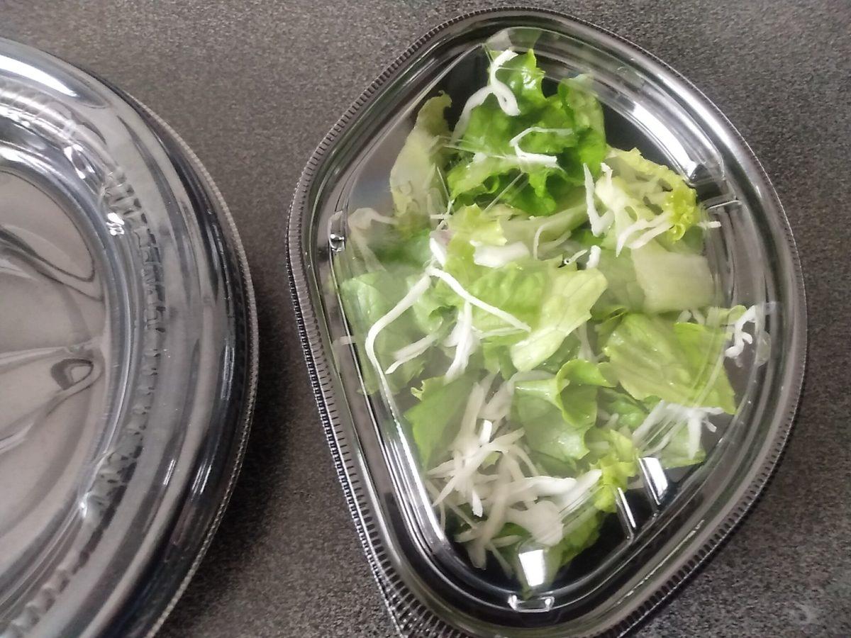 ほっともっと ガパオライス サラダ
