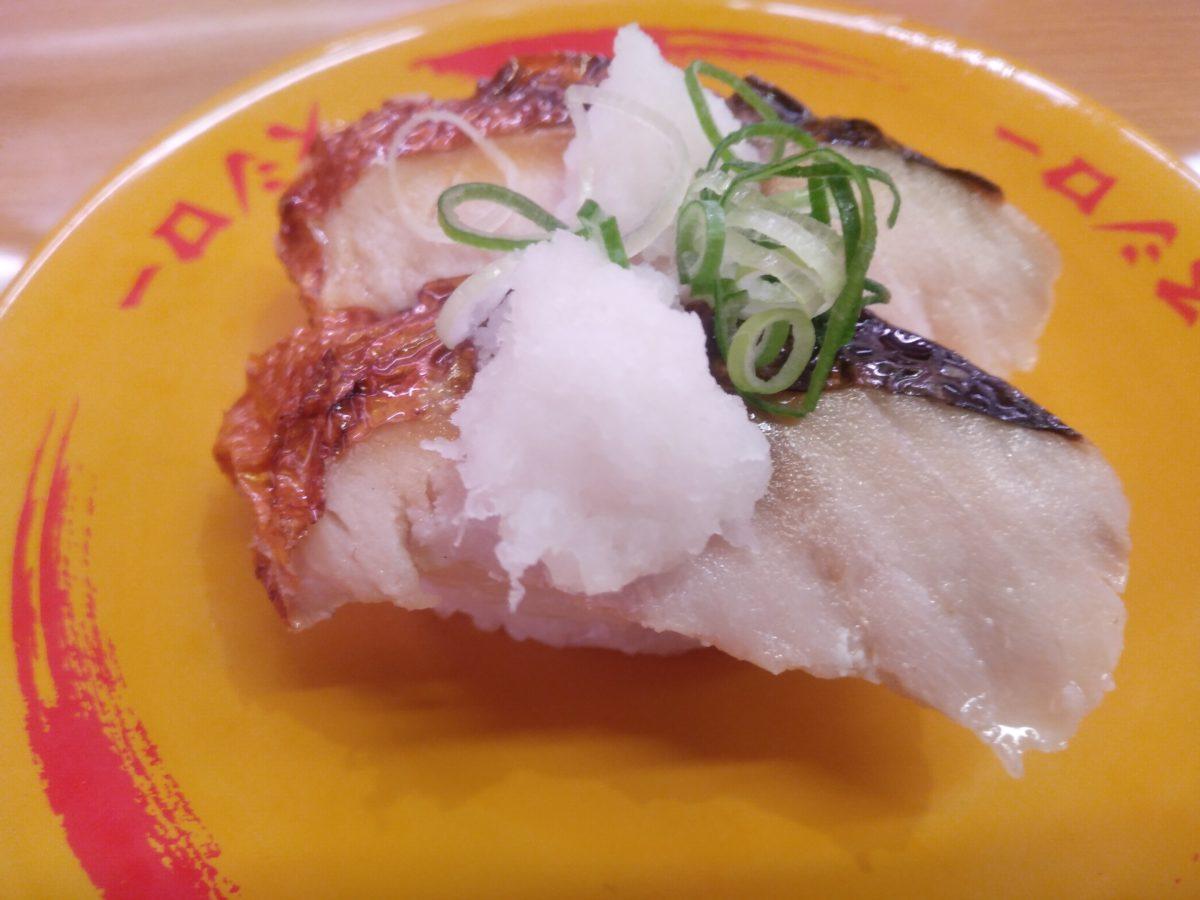 スシロー 焼き鯖