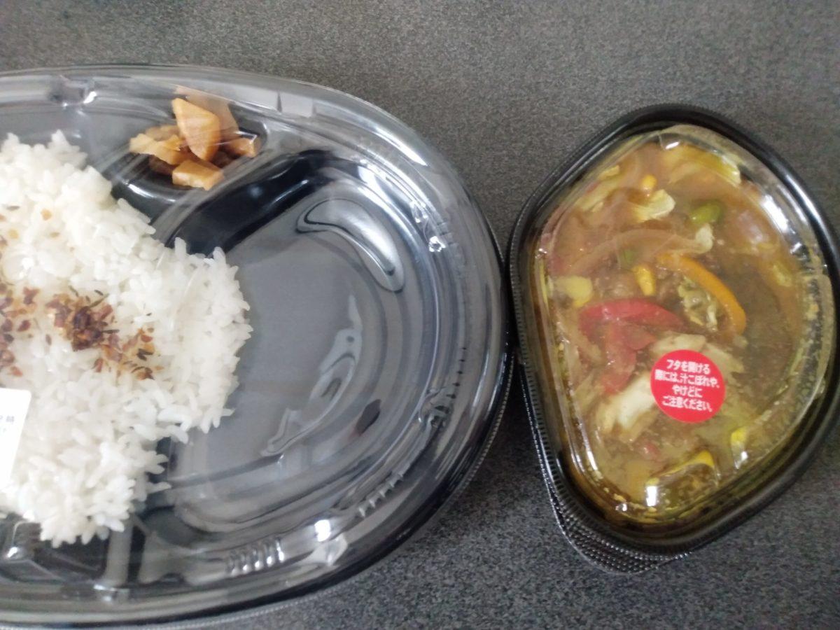 ほっともっと 野菜が摂れるスパイスカレー